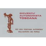 Tessera Gioventù Autonomista Toscana